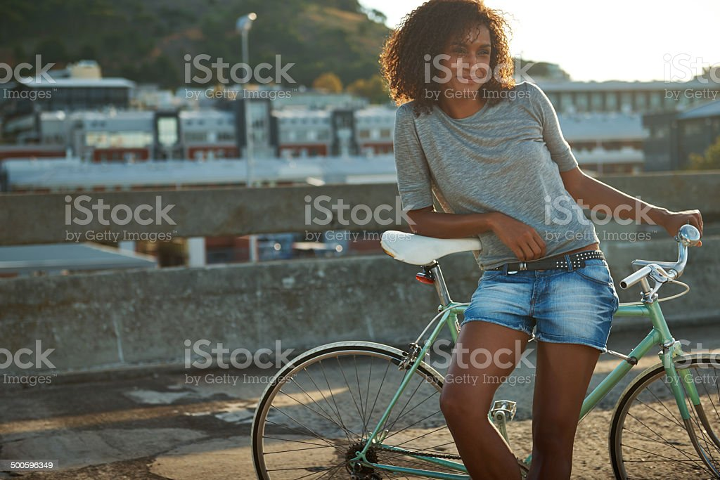 The perfect view royalty-free stock photo