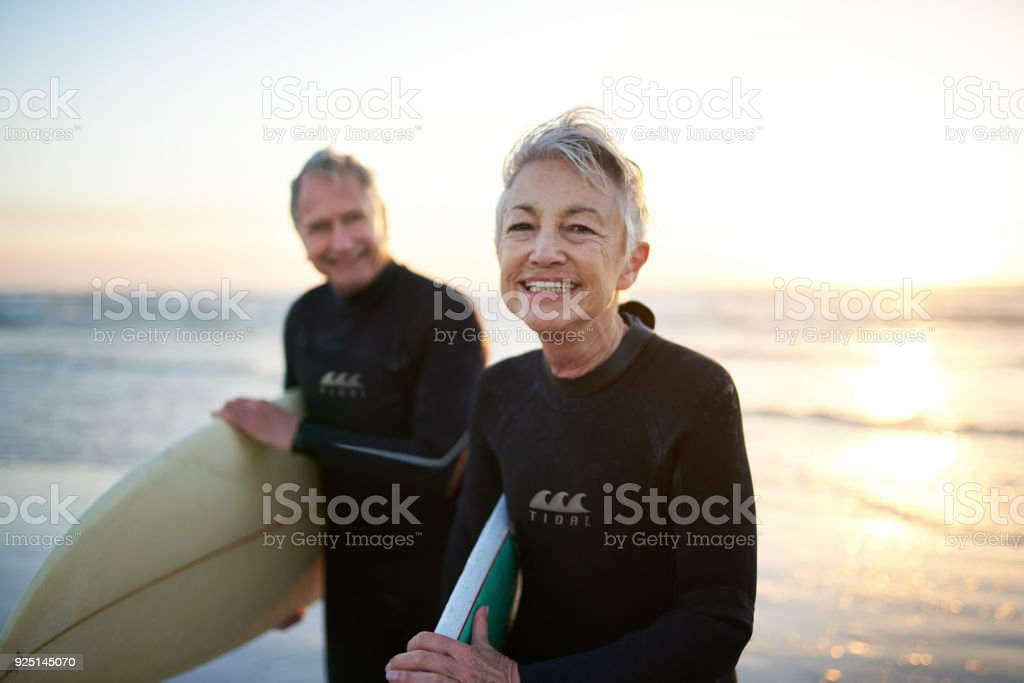 The perfect way to spend their free time stock photo