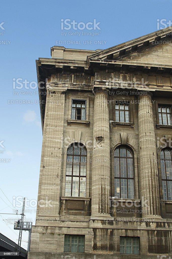 The pergamon museum stock photo