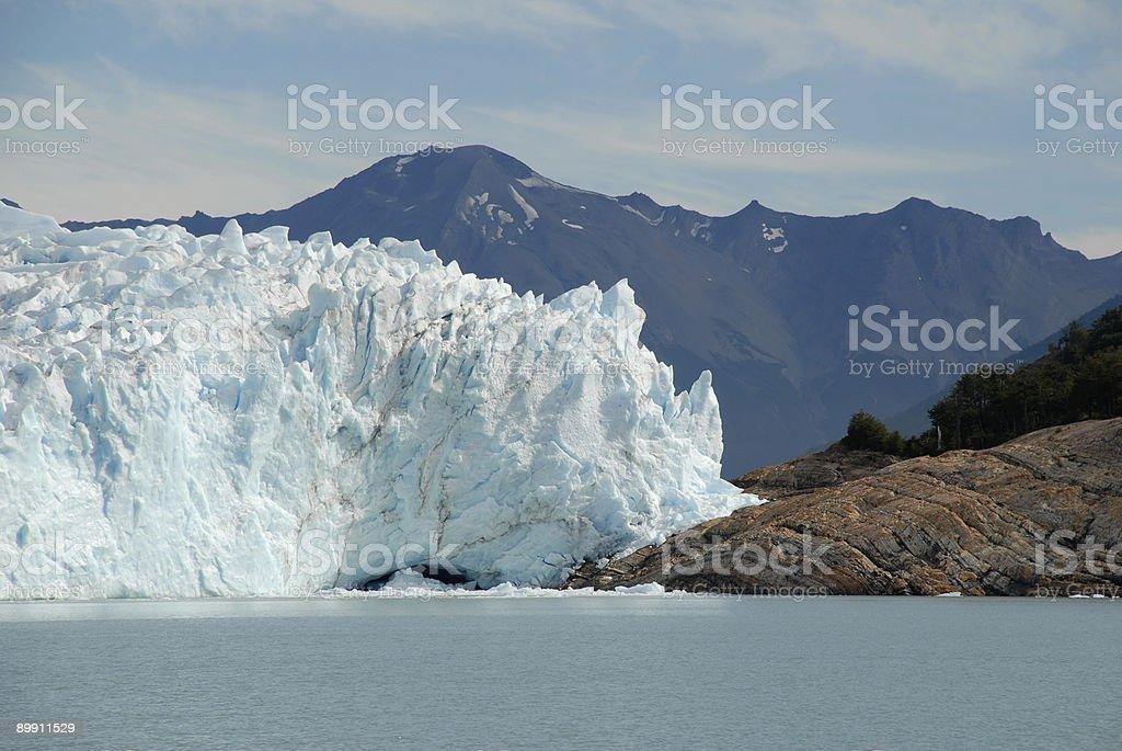 The Perito Moreno Glacier in Patagonia, Argentina. royalty-free stock photo