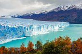 The Perito Moreno Glacier is a glacier located in the Los Glaciares National Park in Santa Cruz Province, Argentina. Its one of the most important tourist attractions in the Argentinian Patagonia.