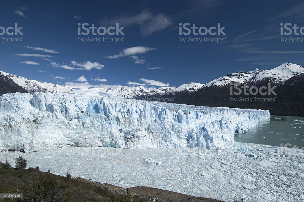 The Perito Moreno Glacier royalty-free stock photo