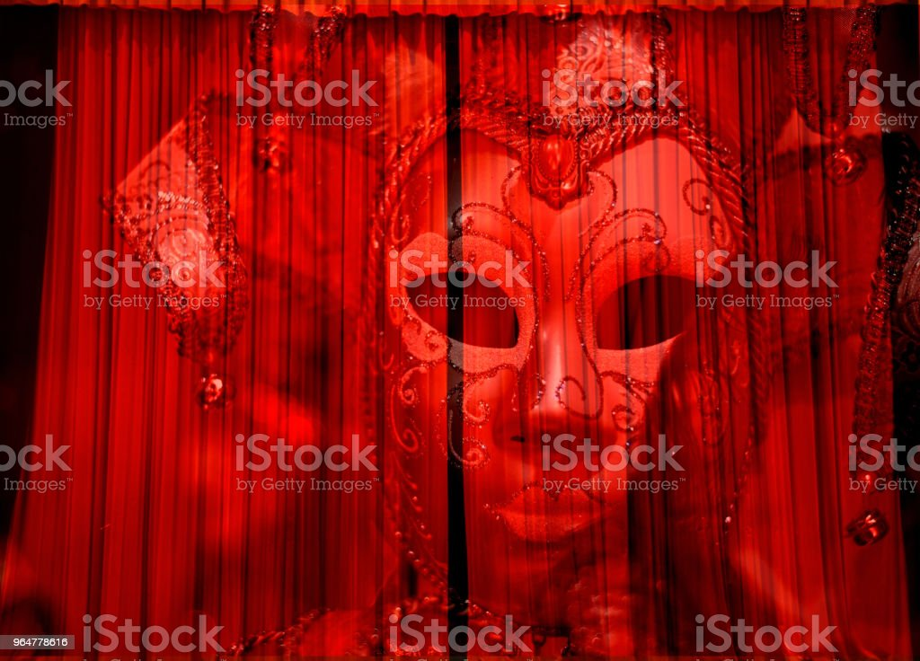 The Phantom of the Opera royalty-free stock photo
