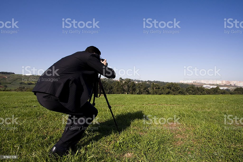 The Photographer royalty-free stock photo