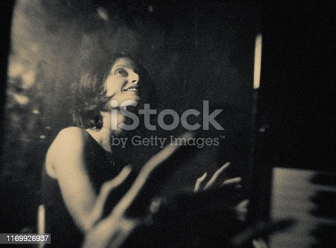 Nightclub, Jazz, Funk music, classical music, vintage, piano, piano player player, concert