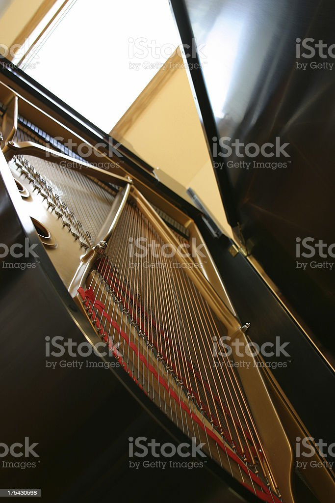 The Piano Room (group and series 1) royalty-free stock photo
