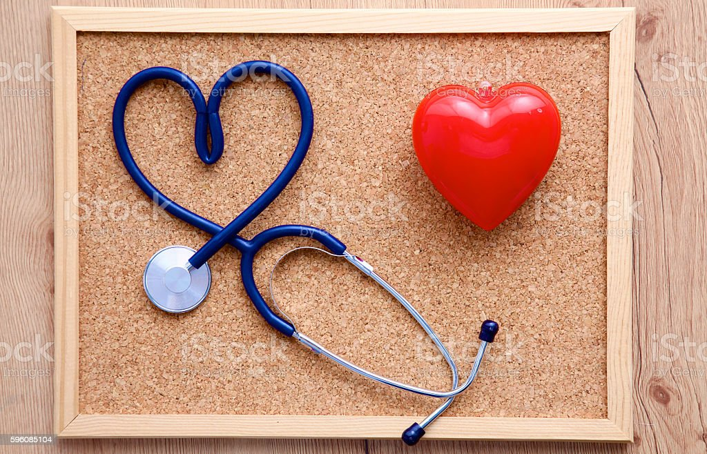 the picture medical stethoscope heart royalty-free stock photo