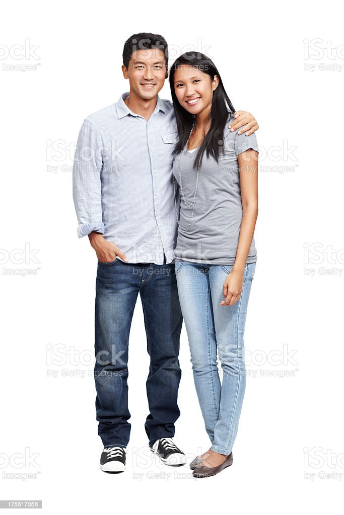 The picture of a loving relationship stock photo