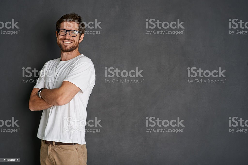 The picture of positivity stock photo