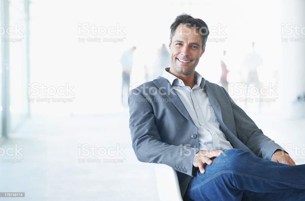 The picture of success stock photo