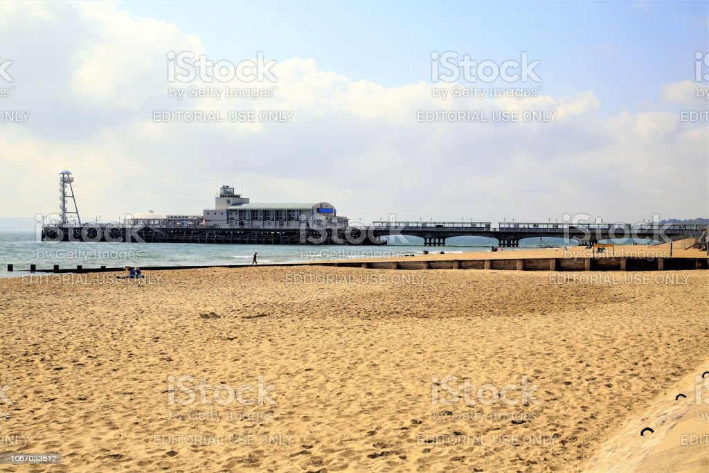 The Pier, Bornemouth, Dorset. stock photo