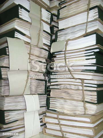 668340340istockphoto the pile of archive papers 545994406