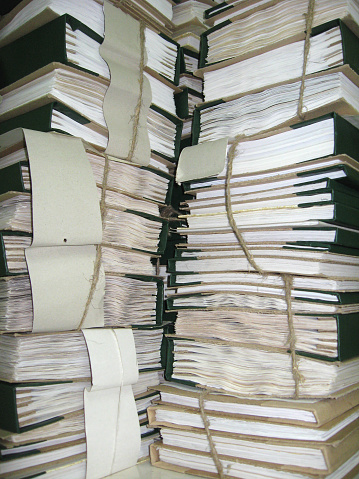 668340340 istock photo the pile of archive papers 545994406