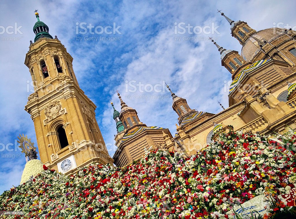 El Pilar stock photo