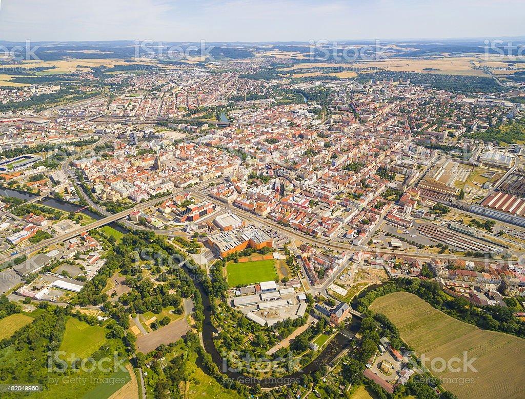 The Pilsen City. stock photo
