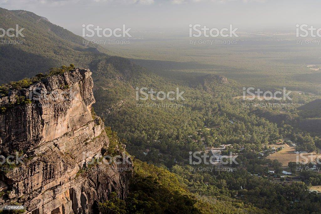The Pinnace/Halls Gap, Grampians NP, Australia stock photo