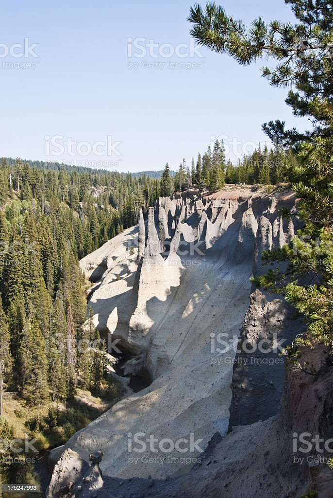 The Pinnacles royalty-free stock photo