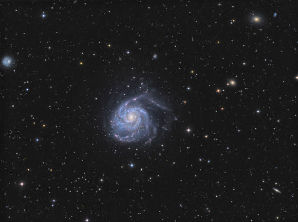 Die Windrad-Galaxie (Messier 101) im Sternbild Ursa Major – Foto