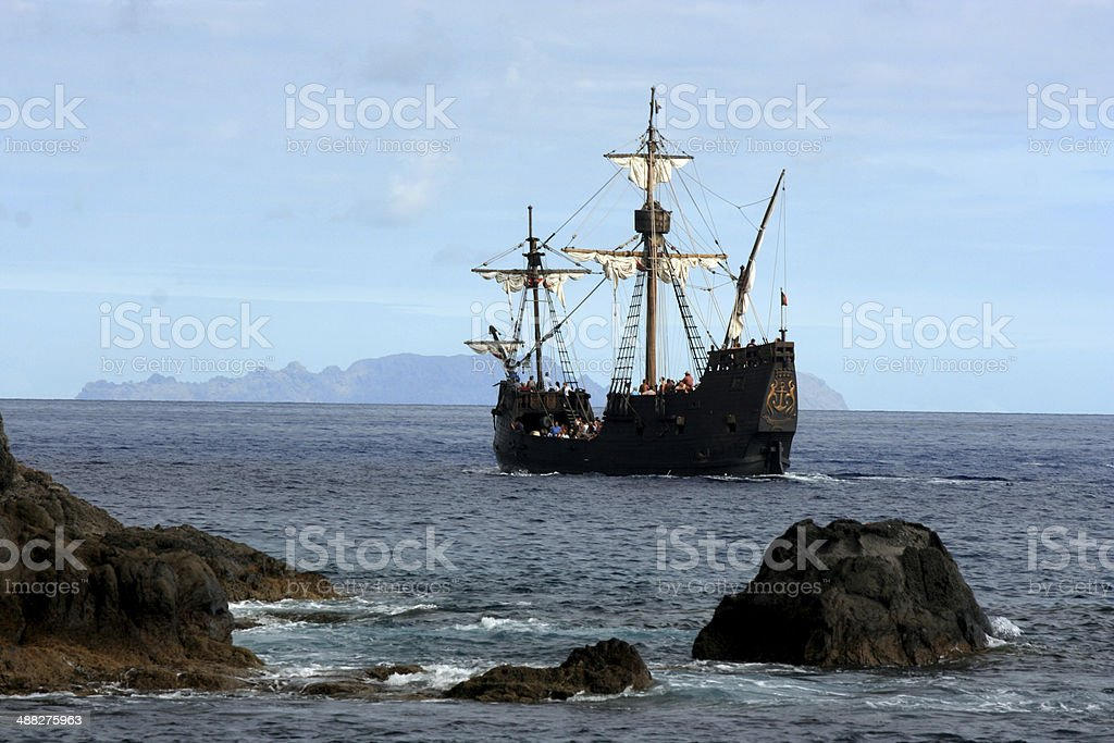 The Pirate Ship royalty-free stock photo
