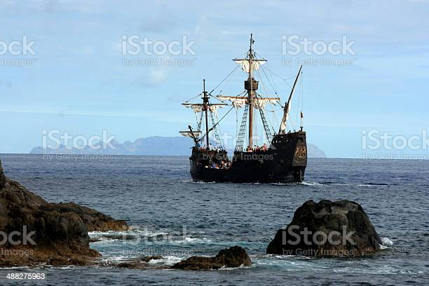 The Pirate Ship Stock Photo - Download Image Now