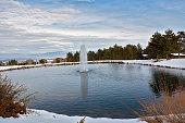 The Pirin station in the ski resort Bansko, Bulgaria
