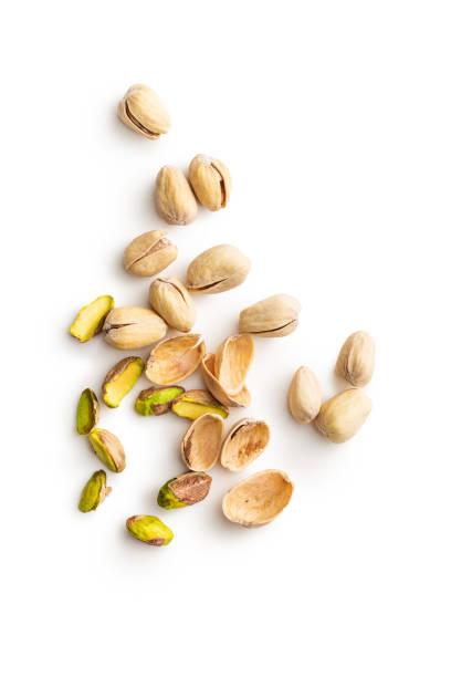 Las tuercas de pistacho - foto de stock