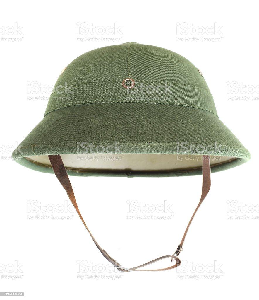 The Pith helmet. stock photo