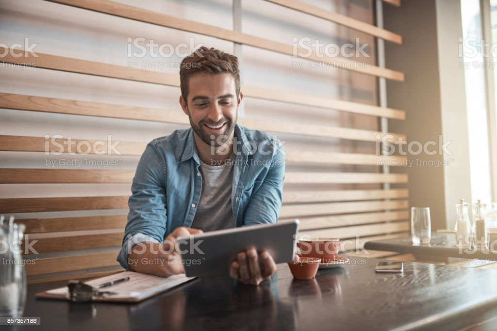 The place for productivity stock photo