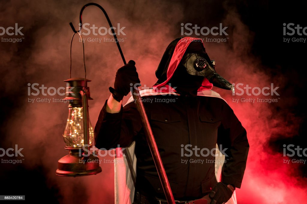 The Plague Doctor stock photo