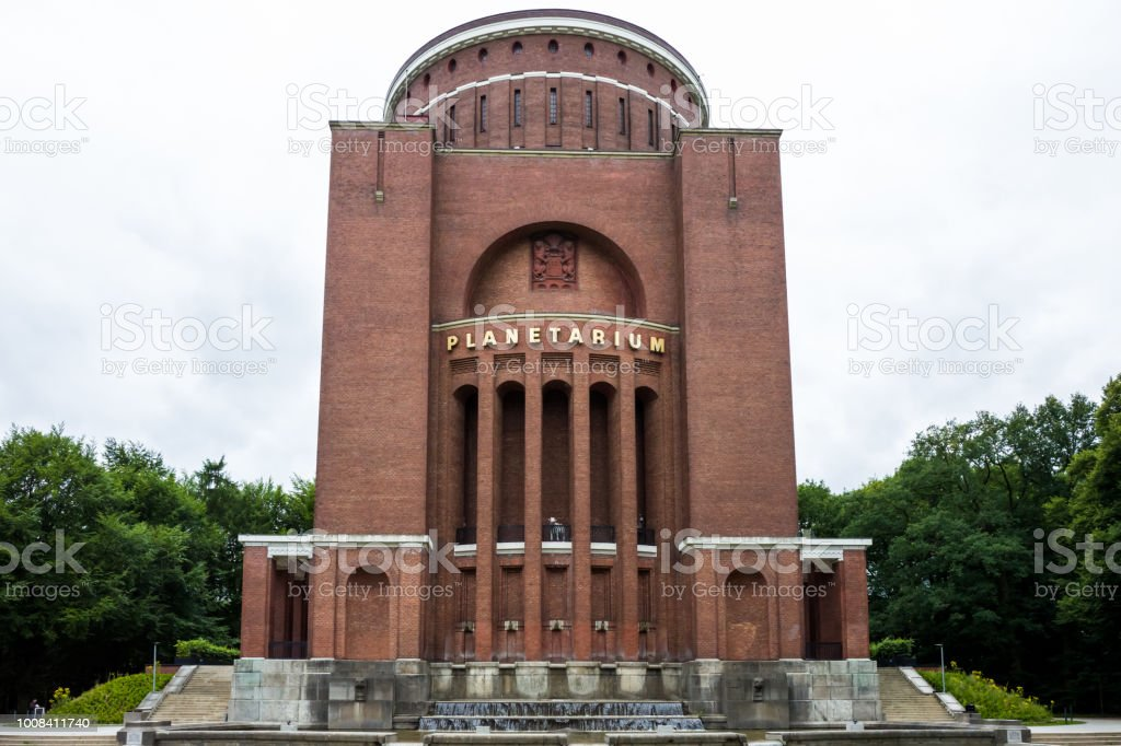 The Planetarium in Hamburg stock photo