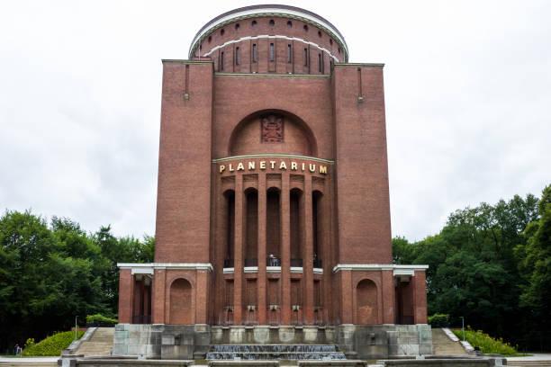 The Planetarium in Hamburg stock photo