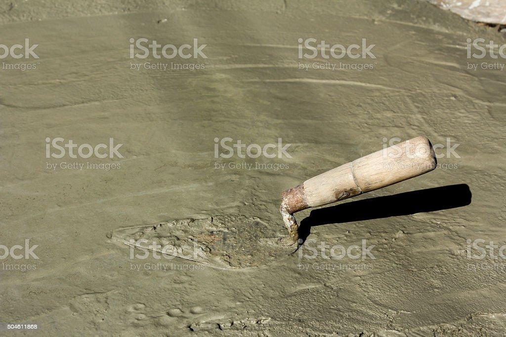 The plaster stock photo