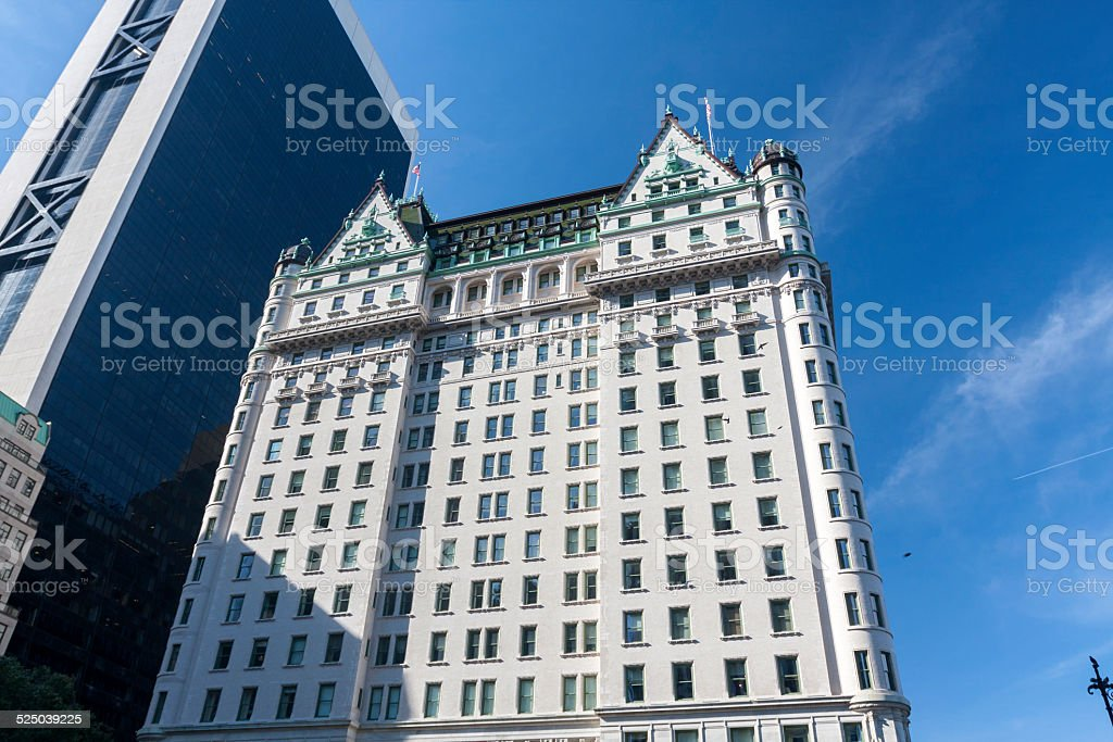 The Plaza Hotel (Manhattan) stock photo