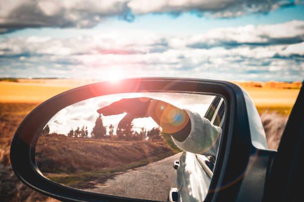 el placer de conducir. bichón. - monse del campo fotografías e imágenes de stock