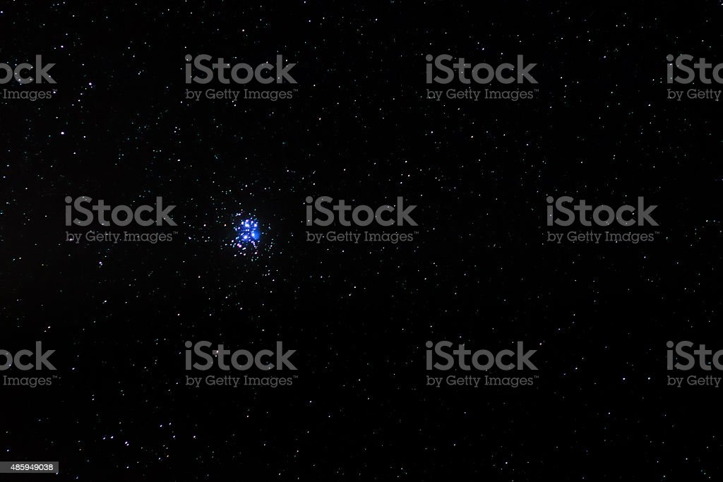 The Pleiades stock photo