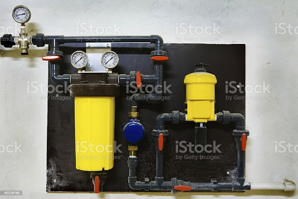 The pneumatic equipment royalty-free stock photo