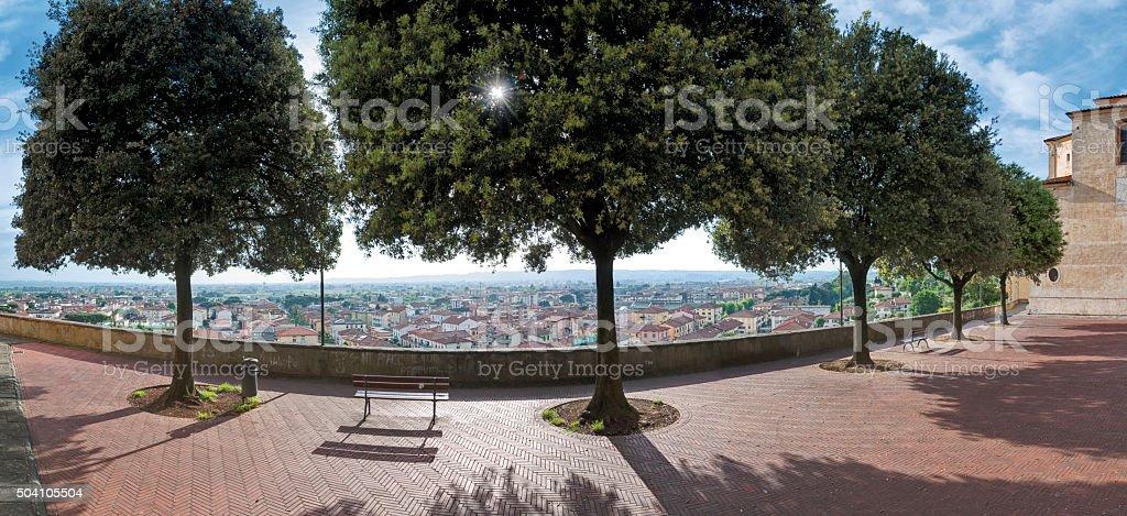 The Poggio Salamartano stock photo