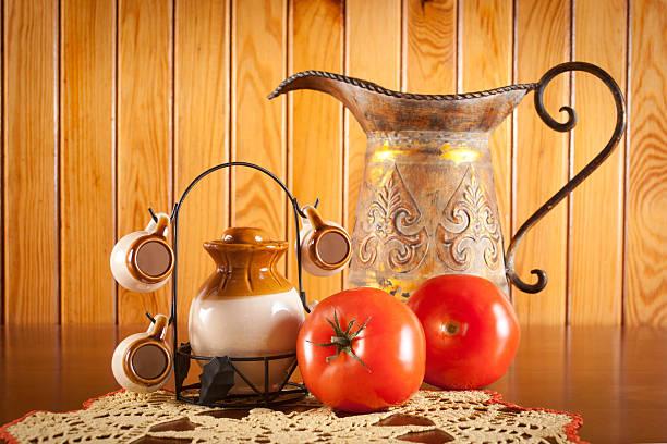 The Polish Table stock photo
