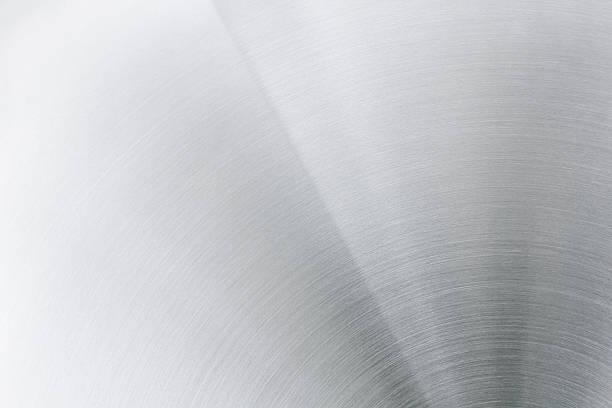 La surface en métal poli. - Photo