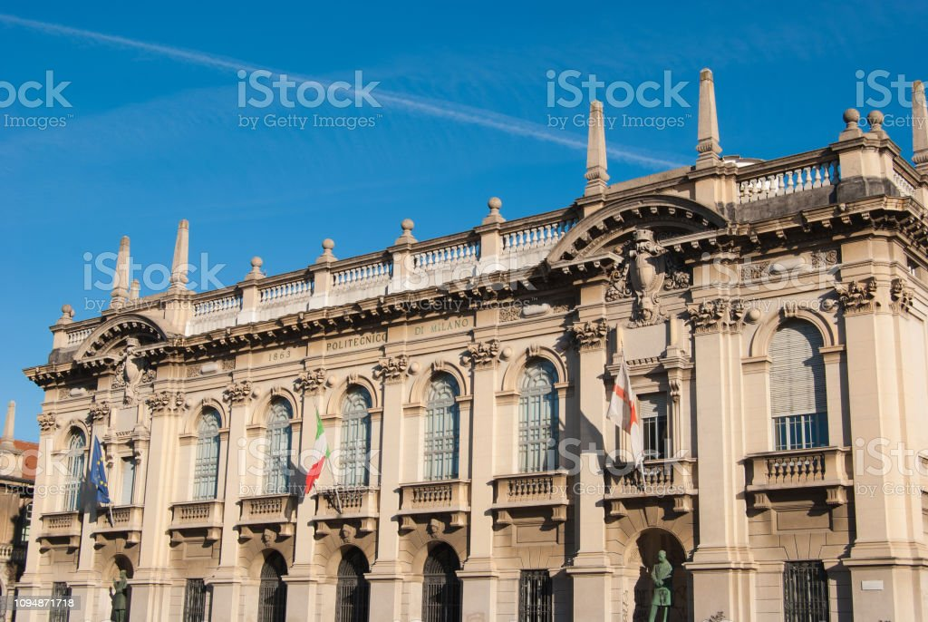 The Polytechnic University Of Milan Stock Photo Download Image Now Istock