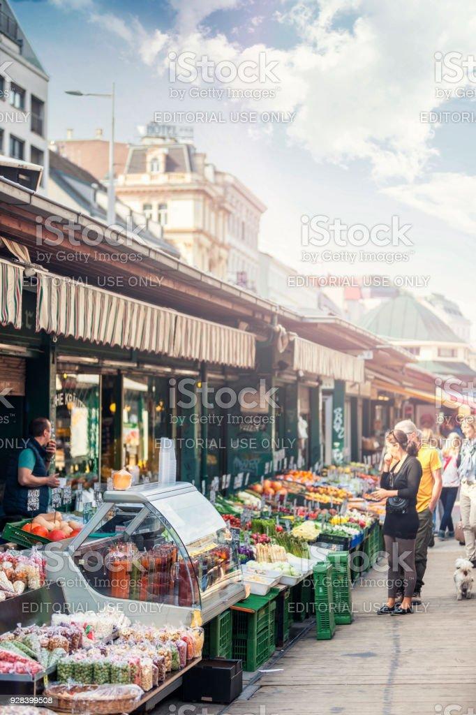 Die berühmten Naschmarkt von Wien – Foto