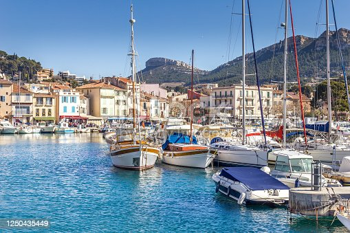 istock The port of Cassis, south of France 1250435449