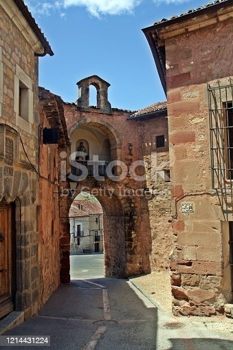 It is one of the old entrances to the city dating from the fourteenth century and place where the suburb of the city would develop.