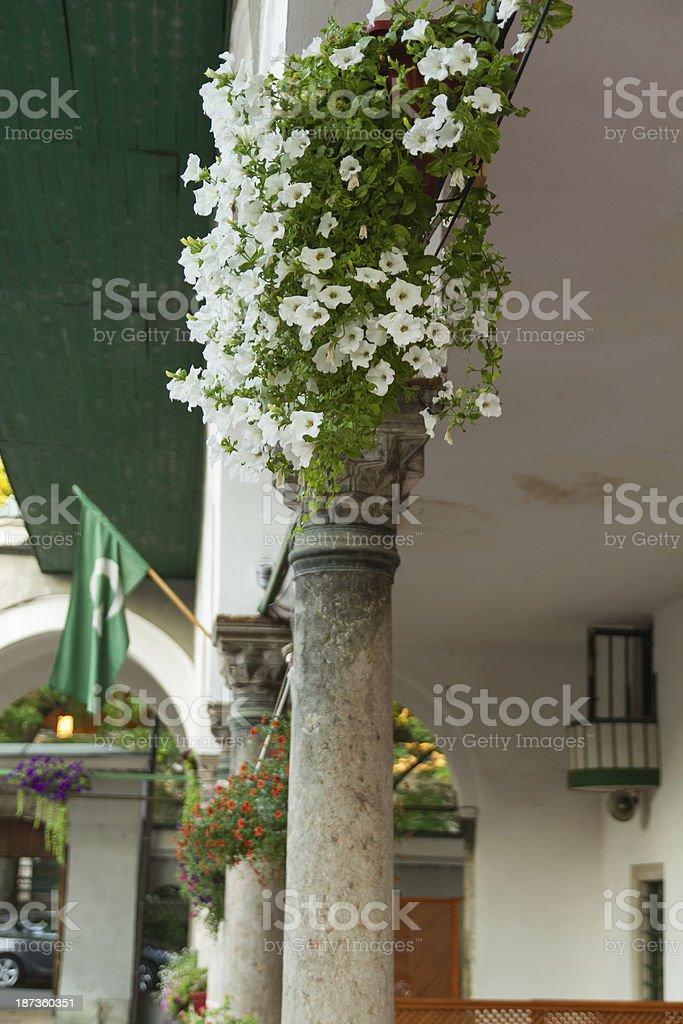 The portico of Careva Dzamija royalty-free stock photo