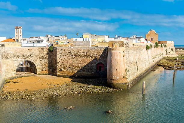 The Portuguese citadel of Mazagan, El Jadida, Morocco stock photo