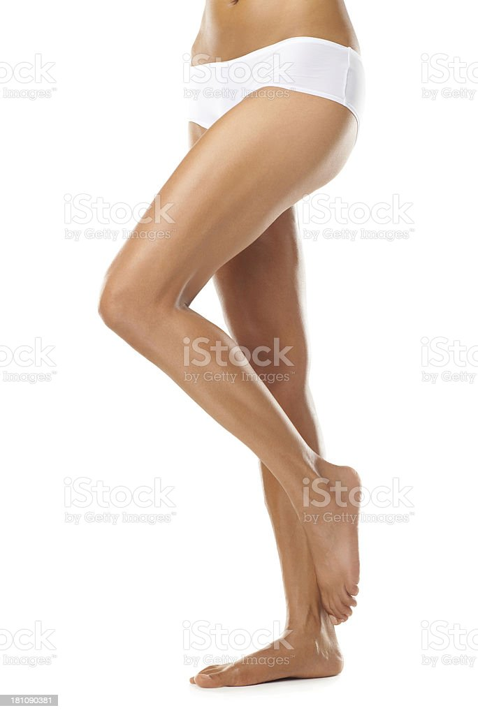 The pose of perfection stock photo