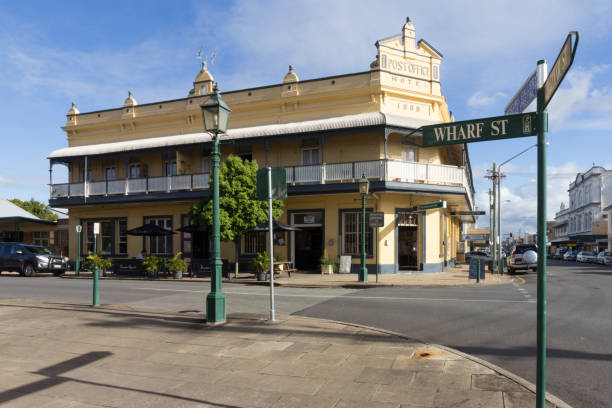 The Post Office Hotel, Maryborough, Queensland, Australien – Foto