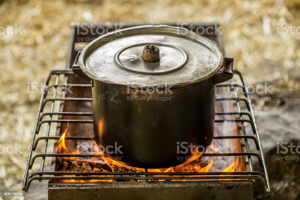 La casserole sur le feu - Photo
