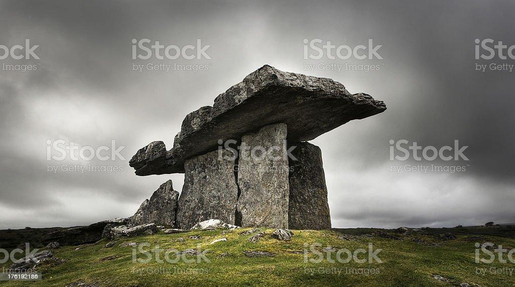The Poulnabrone Dolmen stock photo