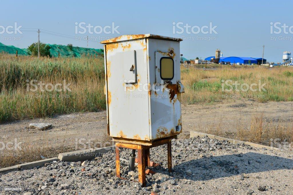 De distributie elektrobox - Royalty-free Apparatuur Stockfoto